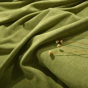 加厚简约现代北欧ins风双面仿羊绒布料雪尼尔高遮光窗帘卧室客厅