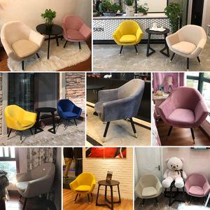 北欧单人懒人沙发阳台小户型迷你现代简约沙发个性休闲卧室房椅子