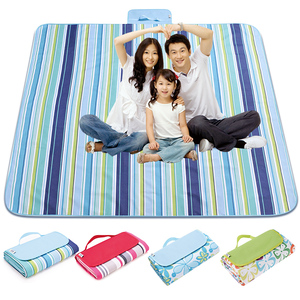 草地<span class=H>垫子</span><span class=H>户外</span>野餐布便携超轻可折叠加厚牛津布沙滩席室外游玩毯子