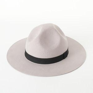 欧美复古不规则凹口羊毛<span class=H>礼帽</span>男女秋冬毛毡<span class=H>礼帽</span><span class=H>硬</span>质版潮款男女帽子