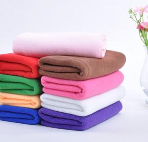 唯真特价批发 吸水毛巾美容美发毛巾干发巾薄款超细纤维毛巾 抹布