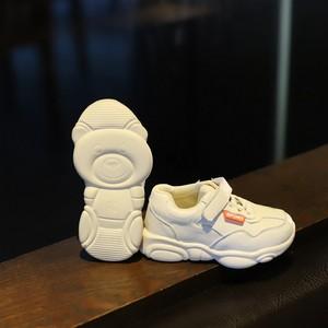 女童小熊网红宝宝老爹鞋小白<span class=H>单鞋</span>2019春秋新款男童ins小孩运动鞋