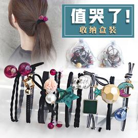 橡皮筋发圈韩国可爱简约成人小清新头绳森女系扎头发皮筋发绳头饰