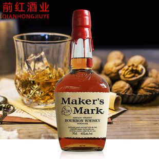 美国洋酒Maker's Mark Bourbon Whisky 美格威波本威士忌 700ml