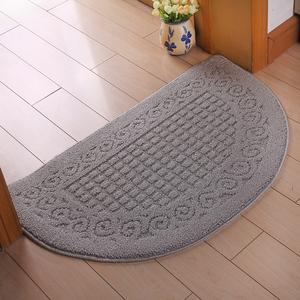 进门半圆形<span class=H>地垫</span>卧室门垫玄关垫脚垫防滑吸水垫客厅卫生间蹭土地毯