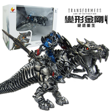 Transformers Optimus Prime Cable Dinosaur Toy Simulated Animal Model