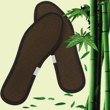 3 pairs of bamboo charcoal mesh insoles for men and women sports deodorization, deodorization, sweat absorption, comfortable single thickness and comfortable bamboo charcoal