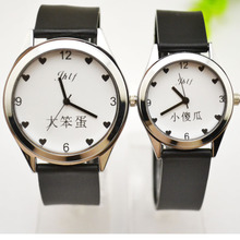 Korean Watch for Male and Female Students Korean Simple Waterproof Ultra-thin Watches for Male and Female with Quartz Expressions