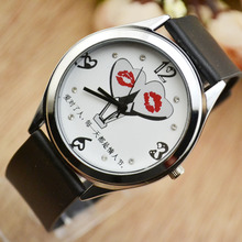 Female students watch lady wrist watch contracted fashion lovers for white leather fashion trend han edition quartz watch