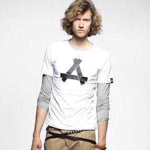 KON欧美男T恤圆领短袖潮人纯棉设计师品牌潮牌印花上衣T血衫男装
