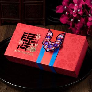 高档结婚礼盒喜<span class=H>糖盒</span>子创意<span class=H>纸盒</span>婚礼<span class=H>韩式</span>浪漫大号费列罗糖果盒装烟