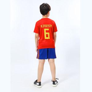 2018世界杯西班牙阿根廷巴西德国队足球服男款女款单件上衣<span class=H>球衣</span>