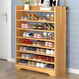 大鞋架长60/75/80宽20 24cm简易家用省空间5 6 7 8层大容量放靴架