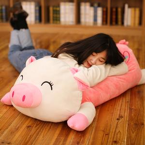 可爱猪公仔毛绒玩具猪布娃娃大号睡觉抱枕猪猪<span class=H>玩偶</span>靠枕头女生礼物