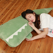 Crocodile plush toy dolls cute little dolls Chao Meng doll children sleeping big size with you sleeping pillow girl