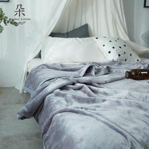 朵罗塔空调毯法莱绒珊瑚绒毯子云貂绒<span class=H>毛毯</span>加厚单双人盖毯毛巾被子