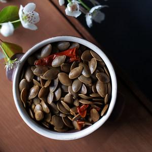 物喜食材 多味卤南瓜子白瓜子炒货水煮五香南瓜子美味休闲零食