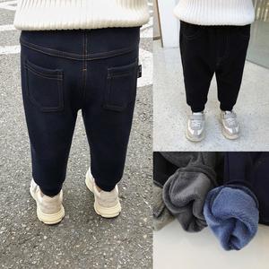 辰辰妈<span class=H>儿童</span>秋冬装宝宝加绒打底<span class=H>裤</span>不倒绒仿<span class=H>牛仔</span><span class=H>裤</span>长<span class=H>裤</span>男童保暖<span class=H>裤</span>子