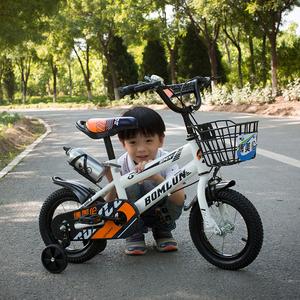 新款儿童<span class=H>自行车</span>12/14/16/18寸2-4-6-8岁童车女男孩脚踏车小孩单车
