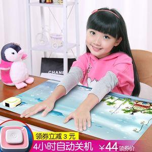 办公桌发热板<span class=H>桌上</span><span class=H>暖垫</span>保暖桌垫<span class=H>多功能</span>课桌现代用品自动充电电热时