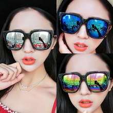 New Korean retro-trendy sunglasses for men and women in 2019