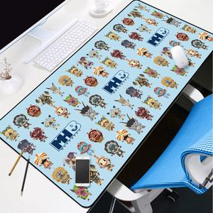 怪物猎人鼠标垫游戏动漫周边超大锁边电竞工作室<span class=H>电脑</span>键盘写字桌垫