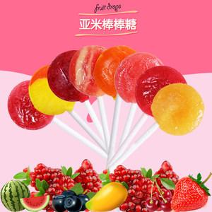 美国进口Yummy Earth婴儿童天然VC<span class=H>水果</span>口味棒棒糖 宝宝进口零食