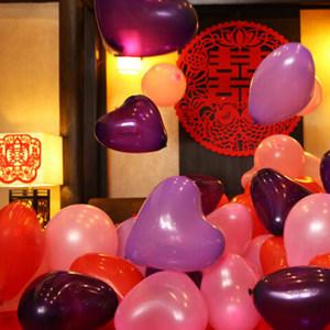 结婚用品<span class=H>气球</span>求婚心形乳胶<span class=H>气球</span>爱心婚庆造型婚房布置装饰生日派对