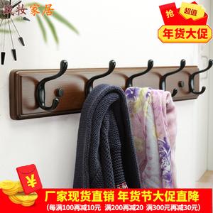 门后挂钩挂衣架房间挂衣服的架子墙上创意壁挂式鞋柜上面的<span class=H>衣帽架</span>