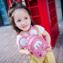 Korean version of children's Shoulder Travel Backpack for boys and girls kindergarten Mickey baby travel 1-3-4 years old inclined bag