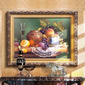 欧美式餐厅静物<span class=H>装饰画</span>沙发背景墙画纯手绘油画客厅<span class=H>装饰画</span>玄关挂画