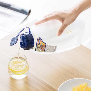 日本进口塑料晾开水壶冰箱冷藏果汁饮料保鲜杯凉水杯耐热<span class=H>冷水壶</span>