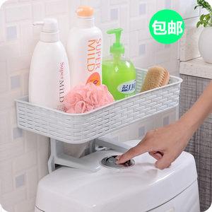 创意<span class=H>浴室</span>储物收纳盒卫生间用品用具小百货大全壁挂马桶置物架免钉