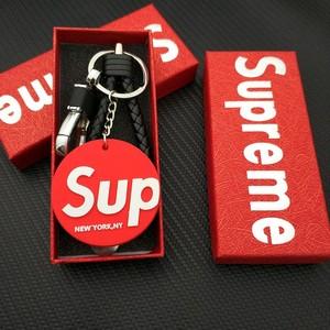 潮牌Supreme钥匙扣<span class=H>男包</span>挂件车钥匙挂女挂绳 666  钥匙扣吊饰挂件