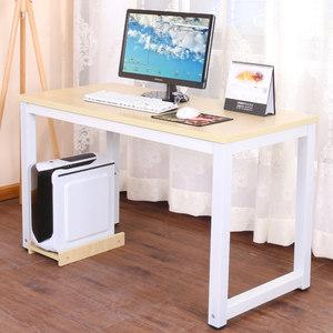电脑桌简约现代办公职员桌台式家用<span class=H>笔记本</span>双人单人写字台钢木书桌