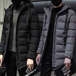 外套男<span class=H>棉衣</span>2018冬季新款韩版潮流中长款加厚男士棉服羽绒棉袄<span class=H>男装</span>