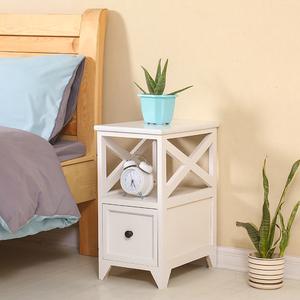 儿童迷你<span class=H>床头柜</span>现代实木小型简易收纳柜超窄床边小柜子宽202530cm