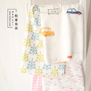 活性A类婴幼 汽车60支全棉纯棉贡缎床品服装手工diy布料卡通面料