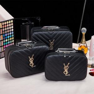 化妆包小号便携韩国简约可爱少女心大容量多功能化品包收纳箱手提