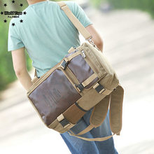 Man women new sport outdoor bags multi-functional Canvas bag