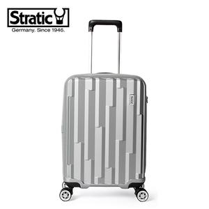 领240元券购买stratic行李箱女万向轮轻盈拉杆箱登机箱20寸商务旅行箱男密码箱