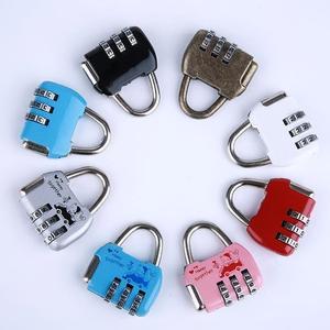 上锁双肩<span class=H>包</span>十字带行李箱海关密码锁万能钥匙宿舍门小型的更衣柜。