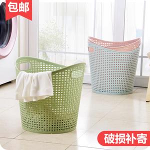 大号塑料脏衣篮衣篓浴室洗衣篮家用玩具衣物<span class=H>收纳篮</span>脏衣服收纳筐