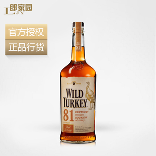 包邮洋酒Wild Turkey 81 proof威凤凰81波本威士忌酒