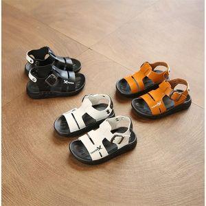 上线夏季儿童<span class=H>凉鞋</span>1-2-3-4岁5软底沙滩鞋透气男童防滑露趾小童童鞋