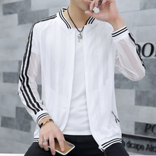 Summer 2019 New Sunscreen Men's Skin Coat Korean Fashion Handsome Spring and Summer Thin Jacket Top