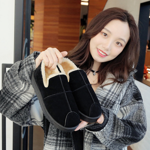 风尚臣<span class=H>雪地靴</span>女平底及裸靴2018冬新款最新注册白菜全讯网休闲保暖鞋时尚加绒女鞋