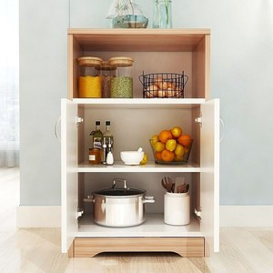 实木小户型碗碟柜碗柜小<span class=H>柜子</span>厨房用的放碗小型家用经济型餐边柜容