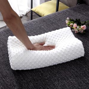 【含枕套】天然乳胶枕单人太空记忆枕头慢回弹记忆枕一对单人双