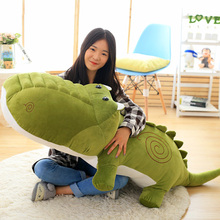 Furry toy crocodile doll pillow lovely Chao Meng bed with you sleeping pillow girl heart birthday gift girl